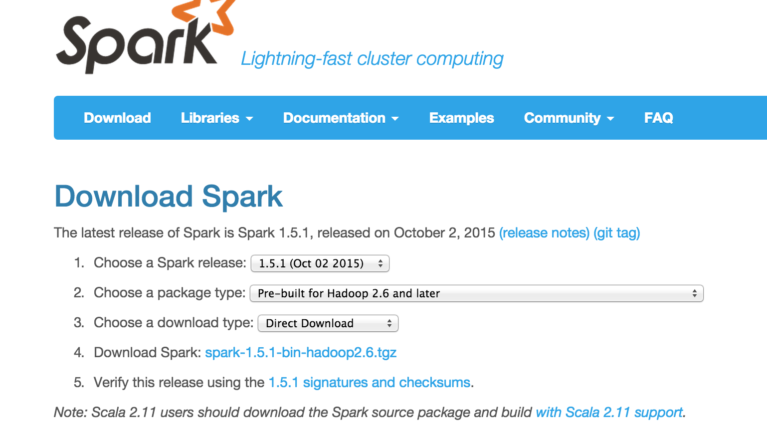 Getting Setup With Spark